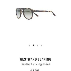 Westward Leaning Galileo 17 sunglasses
